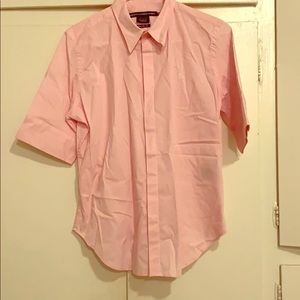 Ralph Lauren sport half sleeve button up shirt